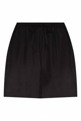 Шелковые шорты черного цвета P.a.r.o.s.h. 393134921