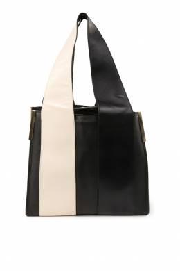 Черная сумка с контрастной деталью Chloe 360134945