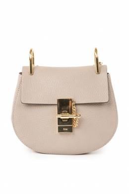 Небольшая сумка бежевого цвета Chloe 360134944
