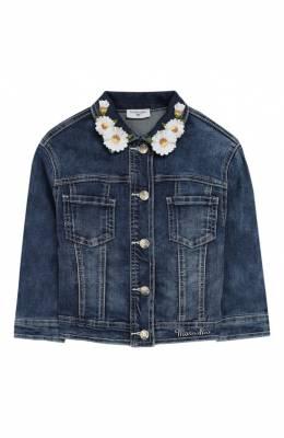 Джинсовая куртка Monnalisa 193100R1