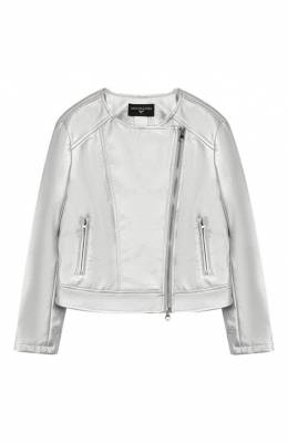 Куртка с косой молнией Monnalisa 173102