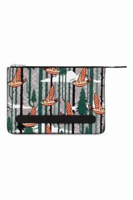 Кожаный клатч Ulisse с принтом Furla 1962135836