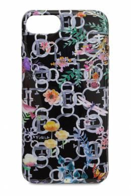 Черный чехол для сматфона High Tech с принтом Furla 1962135816