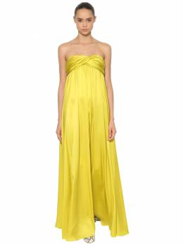 Платье Из Шелкового Атласа Rochas 68I1K5005-NzM10