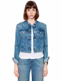 Укороченная Куртка Из Денима J Brand 67IABT012-SjQyNTAx0