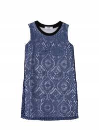 Кружевное Платье Из Хлопка И Вискозы MSGM 67I93G040-MDYw0 - 1