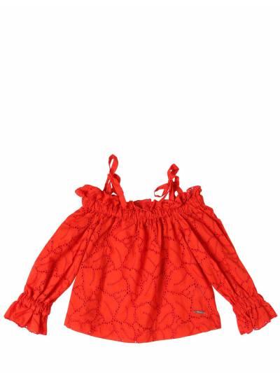 Рубашка Из Хлопкового Кружева MSGM 67I93G008-MDQw0 - 1