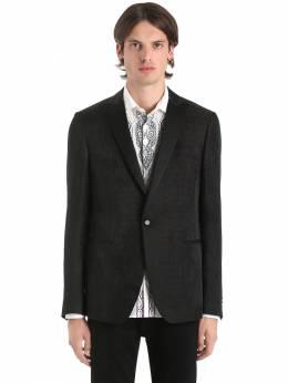 Пиджак Из Льна И Шёлка С Жаккардовым Рисунком Etro 67I7FE008-MQ2