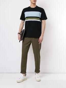Cerruti 1881 футболка с полосками C3970EI22038