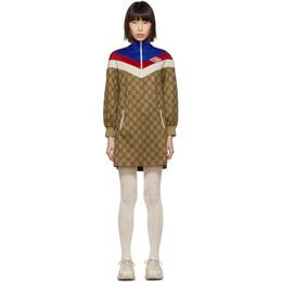 Gucci Beige GG Logo Dress 192451F05200803GB