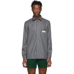 Kenzo Grey Expedition Shirt 192387M19201505GB