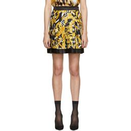 Versace Multicolor Heritage Pleated Skirt 192404F09000203GB