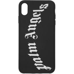 Palm Angels Black Arch Logo iPhone XS Max Case PMPA010E192760121001