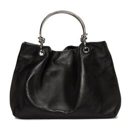 Jil Sander Black Knot Handle Bag 192249F04800301GB