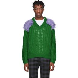 Prada Green Fisherman Sweater 192962M20600206GB