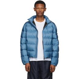 Prada Blue Down Nylon Jacket 192962M17800604GB