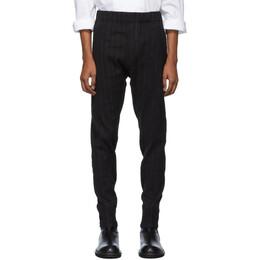 Ann Demeulemeester Black Algernon Trousers 192378M19101303GB