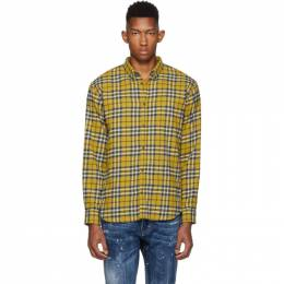 Dsquared2 Yellow Relax Dan Shirt S74DM0299 S52084