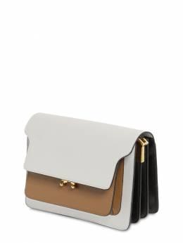 Medium Trunk Saffiano Shoulder Bag Marni 71IVW4013-WjExME41