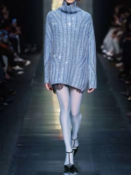 Короткое Трикотажное Платье Ermanno Scervino 70I5KT028-NjQxMjA1