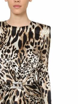 Короткое Платье Из Атласа Alexandre Vauthier 70I5K0033-TElOWA2