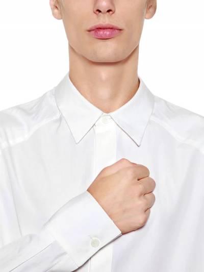 Рубашка Oversize Из Хлопка Поплин Juun.J 67I2IL013-MQ2 - 2