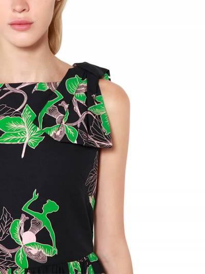 """Платье Из Поплина С Принтом """"bouquet"""" Vivetta 67I1KP016-MDM1 - 2"""
