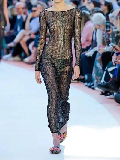 Платье Из Трикотажа С Вышивкой Missoni 67I0D0001-MzAyNQ2 - 2