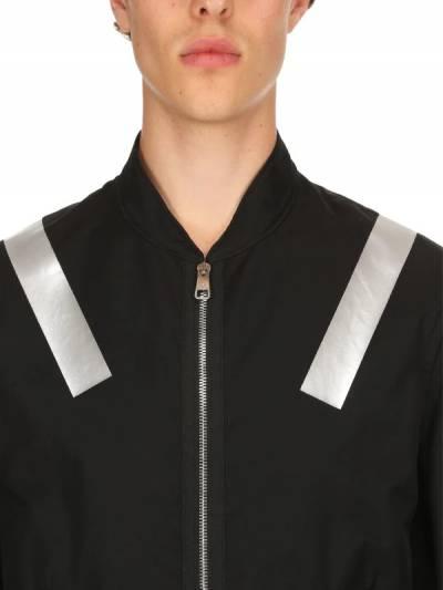 Куртка-бомбер Из Хлопка С Принтом Металлик Neil Barrett 67I05I016-NTQy0 - 2