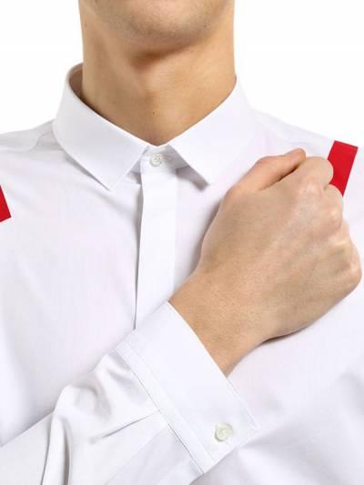 Рубашка Из Хлопкового Поплина С Принтом Neil Barrett 67I05I008-NjA30 - 2