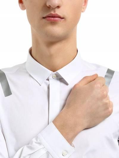 Рубашка Из Хлопкового Поплина С Принтом Neil Barrett 67I05I008-NTM40 - 2
