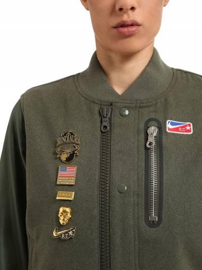"Полушерстяная Куртка ""Nikelab Riccardo Tisci"" 66IWKC004-Mzg00 - 2"