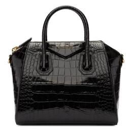 Givenchy Black Croc Small Antigona Bag 192278F04602101GB
