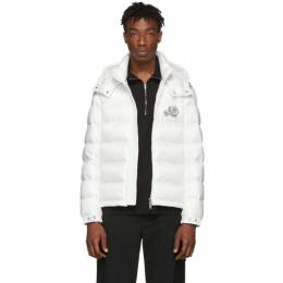 Moncler White Down Bramant Jacket 192111M17801405GB