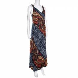 Marc by Marc Jacob Multicolor Paisley Printed Sleeveless Maxi Dress M Marc By Marc Jacobs 148958