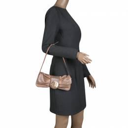 Gucci Blush Pink Python Hysteria Clutch Bag 139694