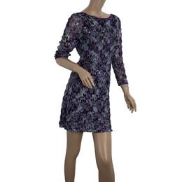 Missoni Empire Waist Scoop Back Dress S 20599