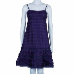 Marc By Marc Jacobs Blue Strappy Dress S 45630
