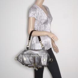 Mulberry Pewter Emmy Shoulder Bag 37800