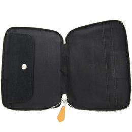 Hermes Two Tone Cotton Fourre Tout Document Purse Bag