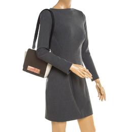 Carolina Herrera Tri Color Leather Shoulder Bag 192878