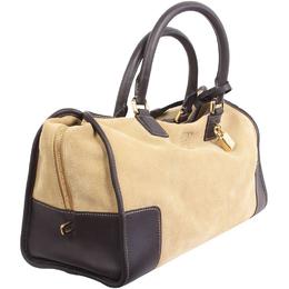 Loewe Beige Suede Leather Tote Bag 188197