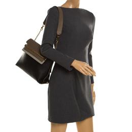 Chloe Tri Color Leather Medium Clare Shoulder Bag 186281