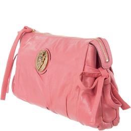 Gucci Peach Leather Hysteria Clutch Bag 188274