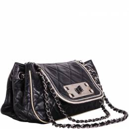 Chanel Black Leather Shoulder Bag 188493
