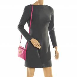 MICHAEL Michael Kors Pink Leather Adele Crossbody Bag 197431