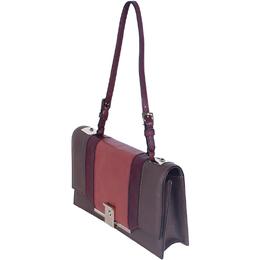 Valentino Brown Constrast Panel Shoulder Bag 187812