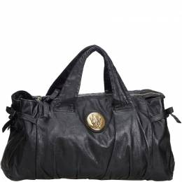 Gucci Black Leather Hysteria Everyday Bag 180590