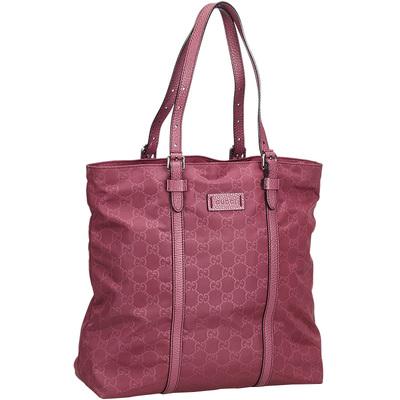 Gucci Pink Nylon GG Tote Bag 181997 - 1