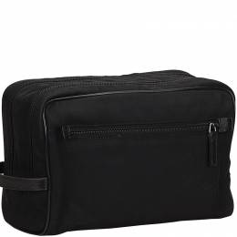 Gucci Black Nylon Clutch Bag 152530